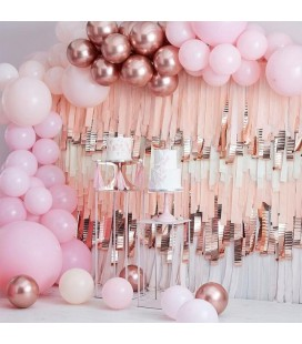 Luxe Pastel Pink & Rose Gold Balloon Arch Kit