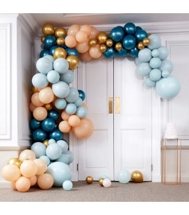 Luxe Teal & Gold Balloon Arch Kit