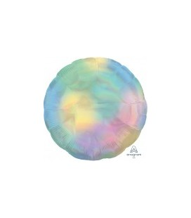 Foil Holographic Iridescent Pastel Balloon