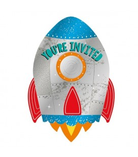 Astronaut Invitations