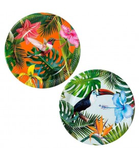 Tropical Fiesta Party Plates