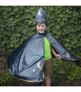 Reversible Wizard Cape & Mask 4-6 years