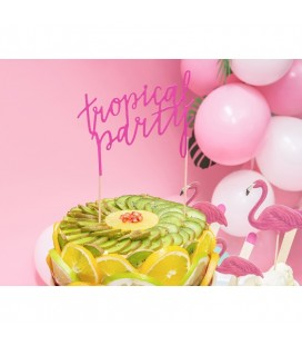 Cake Topper Tropical Party