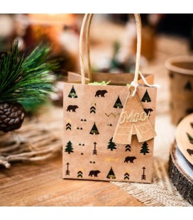 4 Indian Forest Treat Bags