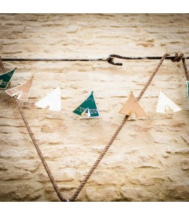 Teepee Party Garland