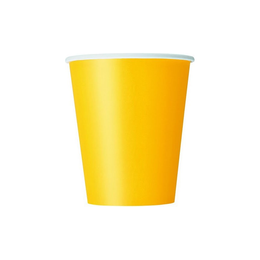14 Yellow Cups
