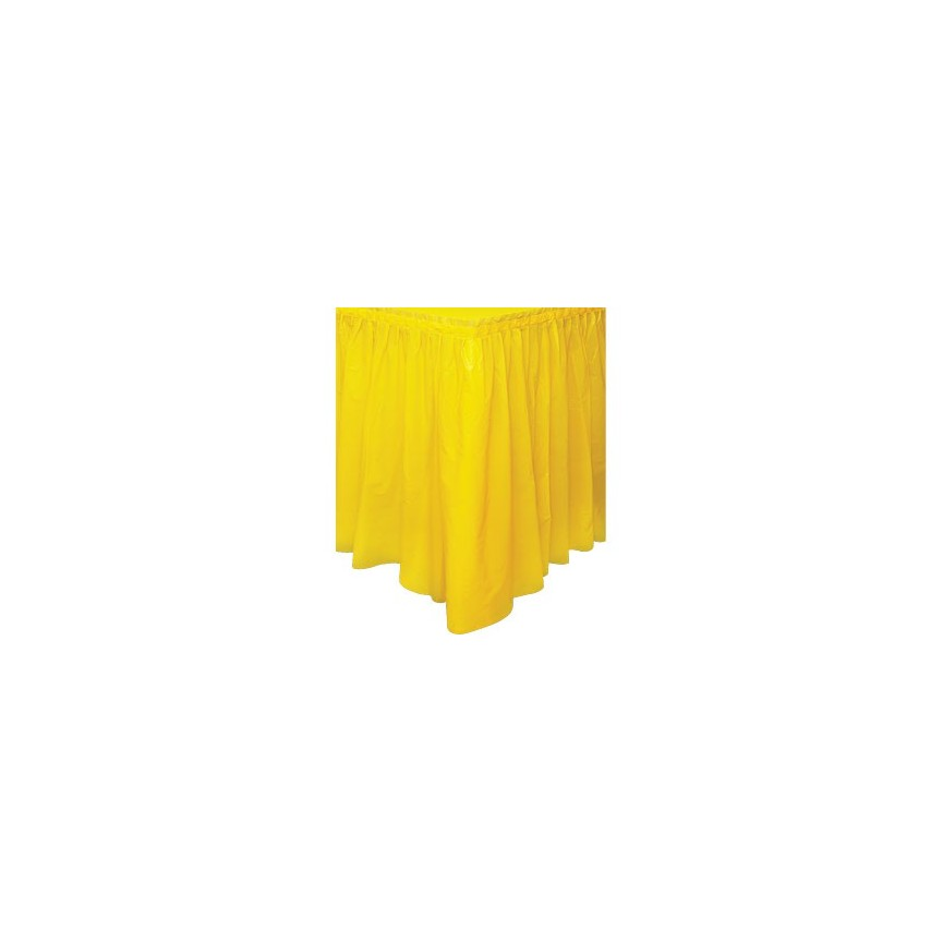 Yellow Tableskirt