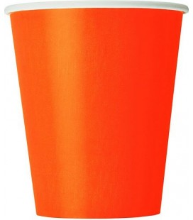 14 Orange Becher