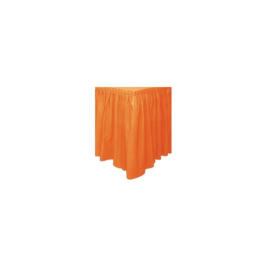Orange Tableskirt