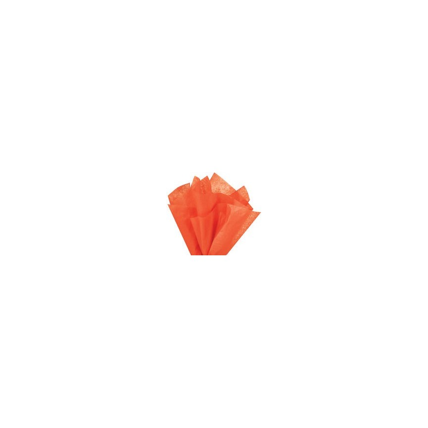 Orange Tissue Gift Sheet
