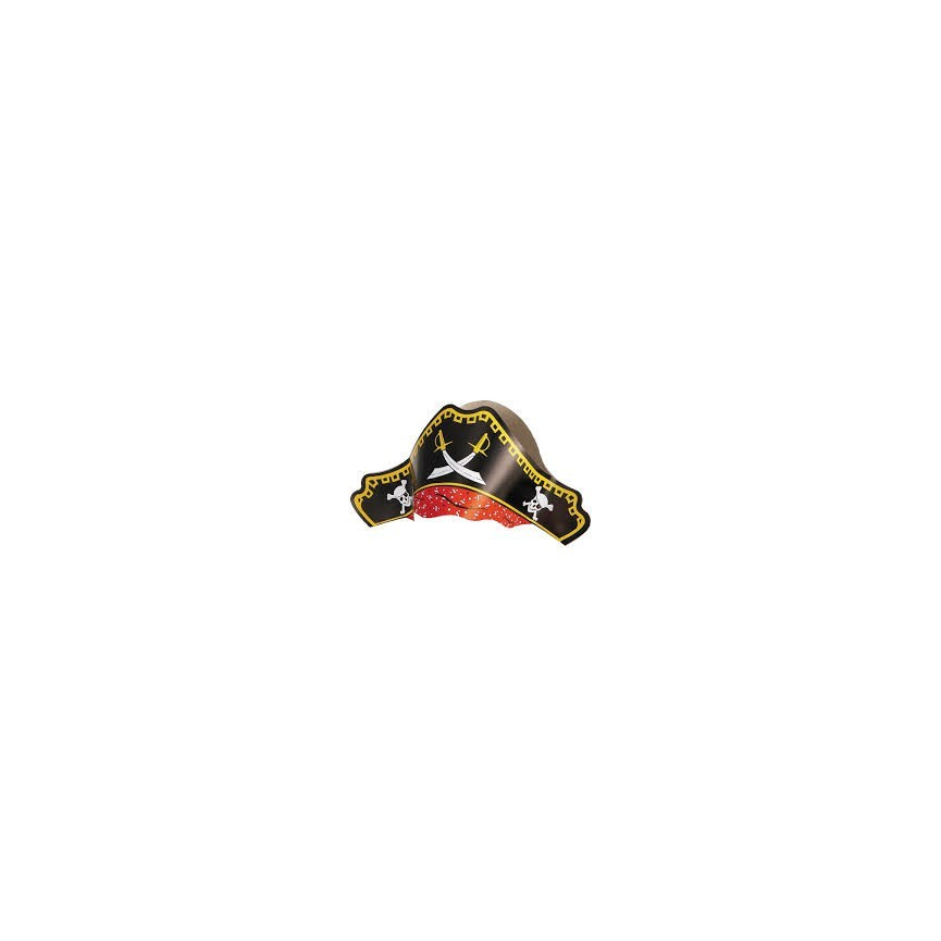 4 Pirates Paper Hats