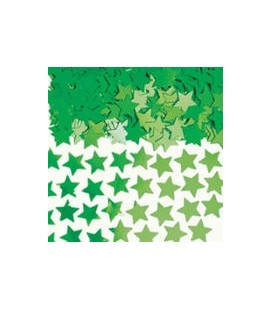 Green Star Confetti