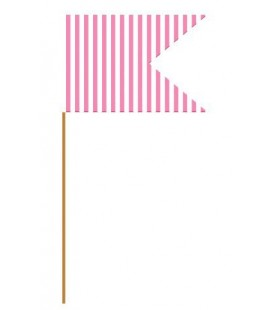 20 Magenta Flag Picks