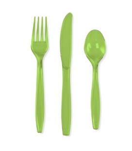 18 Lime Cutlery