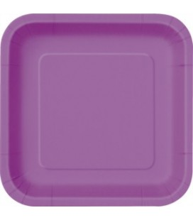 14 Pretty Purple Dinner Plates
