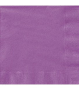 20 Pretty Purple Lunch Napkins