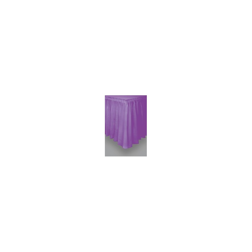 Jupe de Table Mauve