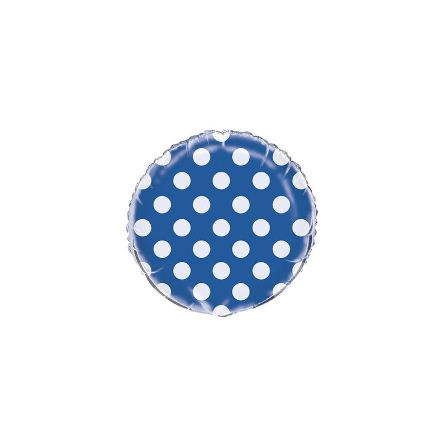 Ballon Mylar Bleu Royal