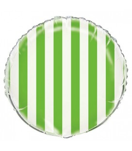 Ballon Mylar Lime