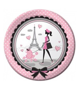 Paris Chic Plates