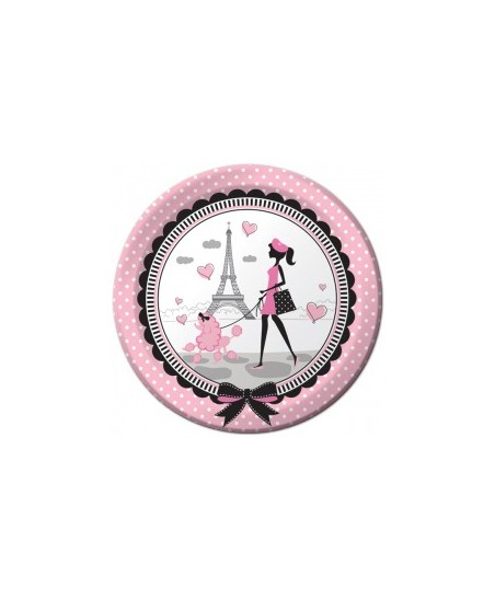 Assiettes Paris Chic