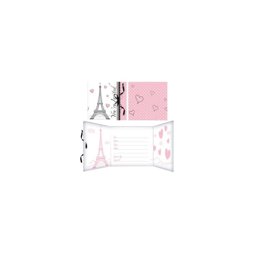 Invitations Paris Chic