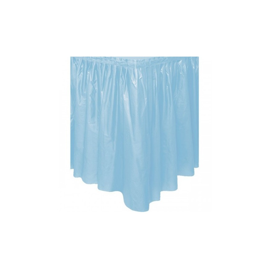 Baby Blue Tableskirt