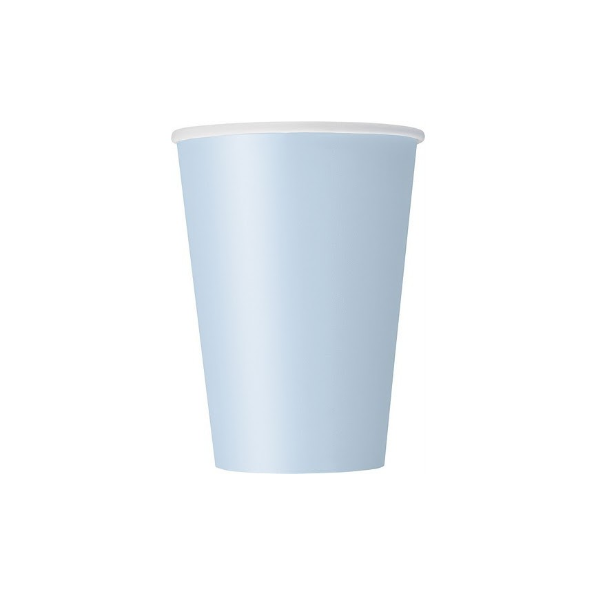 14 Baby Blue Cups