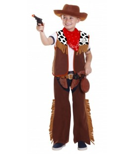 Far West Cowboy Costume 3-5 years