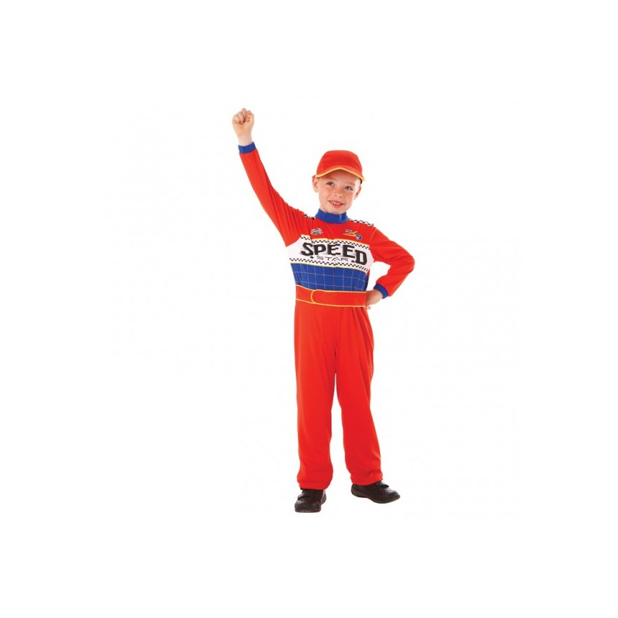 Boys Speed Racing Driver Costume 6-8 years