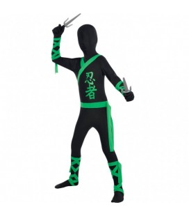 Ninja All in One Suit Costume 4-5 years