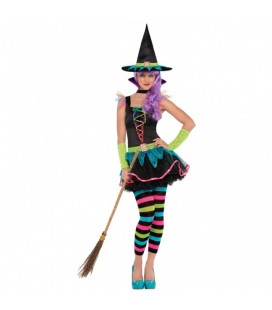 Neon Witch Teen Costume