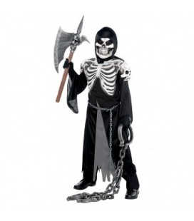 Crypt Keeper Skeleton Kids Costume