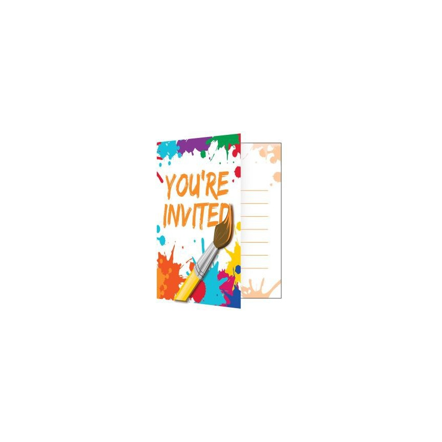 Invitations Art Party