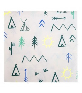 Teepee Party Napkins