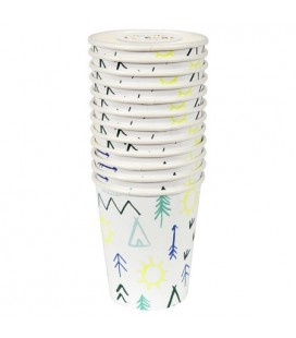 Teepee Party Cups
