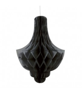 Black Honeycomb Chandelier