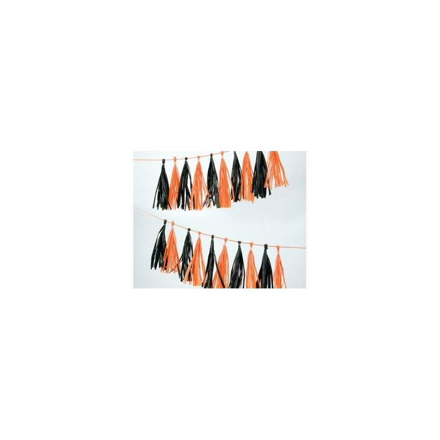 No Hassle Tassel Halloween Pompons