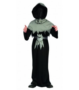 Master of Shadows GREY Kids Costume