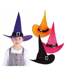 1 Buckle Witch Hat for children