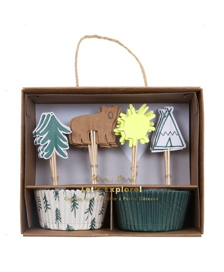 Tipi Party Cupcake Kit