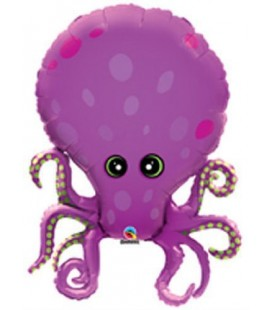 Octopus Mylar Balloon