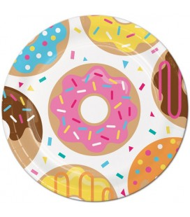 Donut Party Dinner Plates