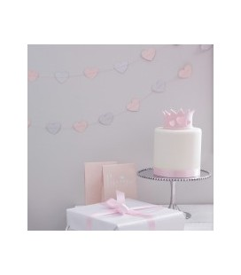 Princess Hearts Garland