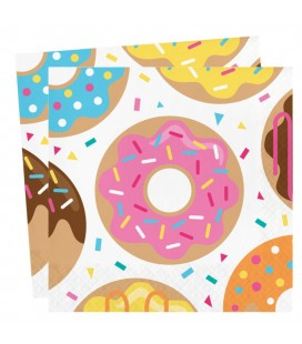 Grandes Serviettes Donut Party
