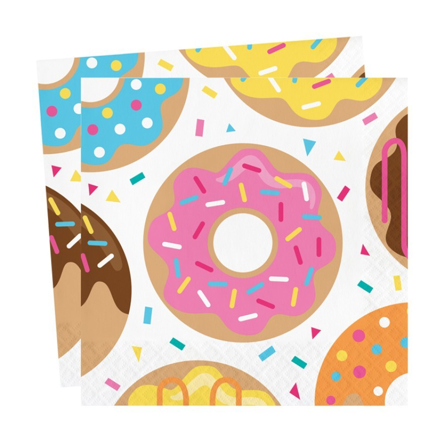 Donut Party Napkins