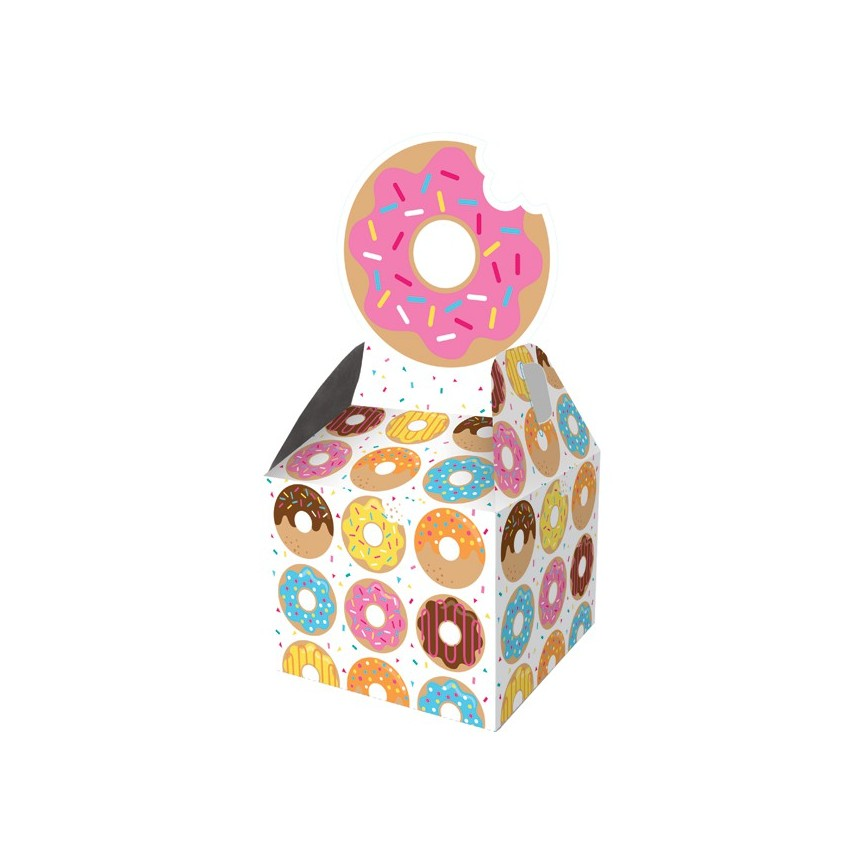 8 Donut Party Treat Boxes