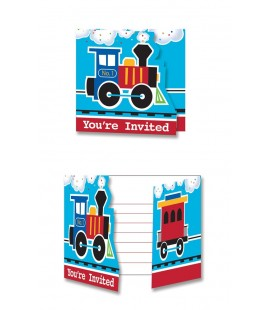 All Aboard Invitations