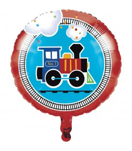 Ballon Mylar Petit Train