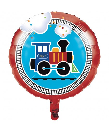 All Aboard Mylar Balloon